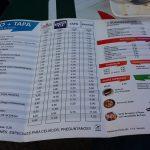 Carta Bar Salas