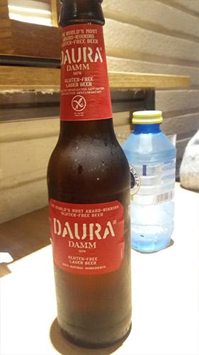 Cerveza Daura sin gluten
