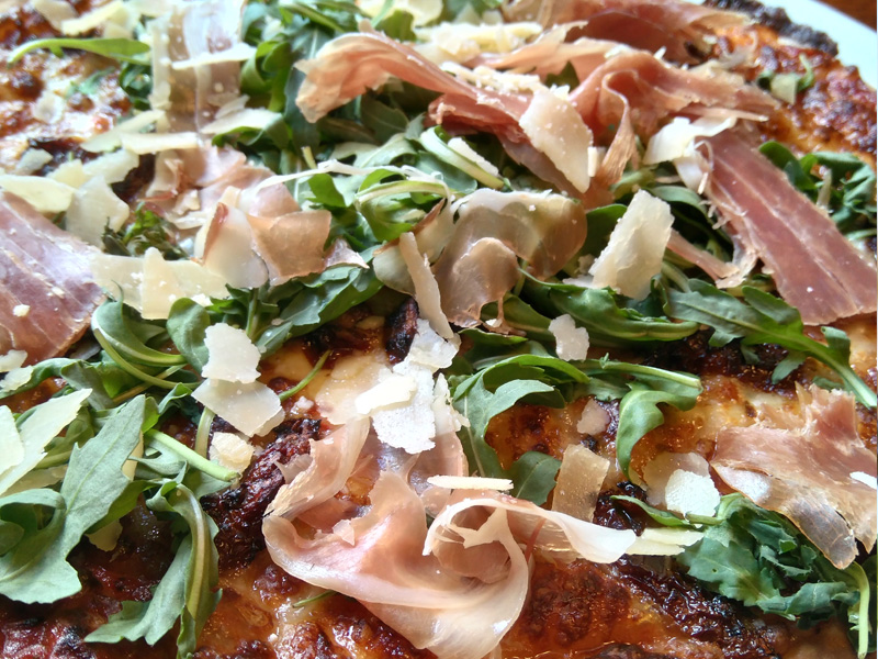 Pizza sin gluten en Pizza Hut